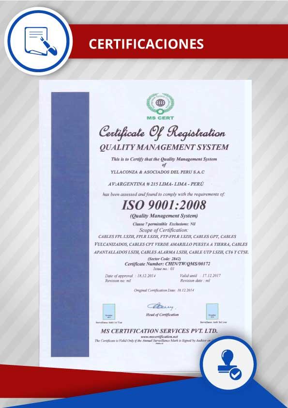 CERTIFICACIONES-YLLACONZA-ISO9001-ISO-9001-CABLES-FPL-LSZH-FPLR-FTP-GPT-CABLES-VULKANIZADOS-CPT-VERDE-AMARILLO-PUESTA-A-TIERRA-CABLES-APANTALLADOS-CABLES-ALARMA-CABLES-UTP